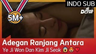 Adegan Ranjang Antara Ye Ji Won Dan Kim Ji Seok 😱😍❤️ #AnotherMissOh 🇮🇩INDO SUB🇮🇩