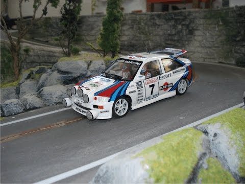 Slot car Scalextric Rally 2
