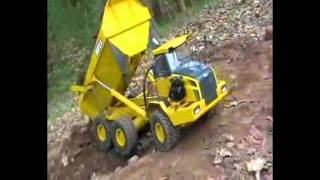 Bell B50D Dumper - RC Construction Equipment