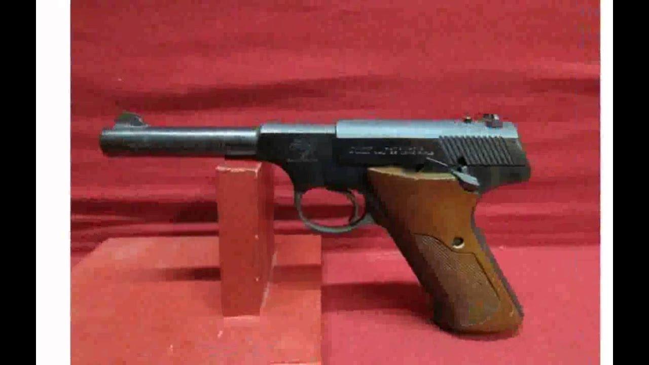 Hi-Standard 22s AMT-Auto Mag .22 LR Pistol Best Guns - YouTube