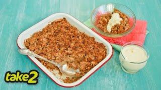 Apple Crumble Recipe – Gluten-free & Flourless