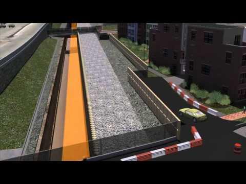 Virginia Avenue Tunnel - Construction Progression Video