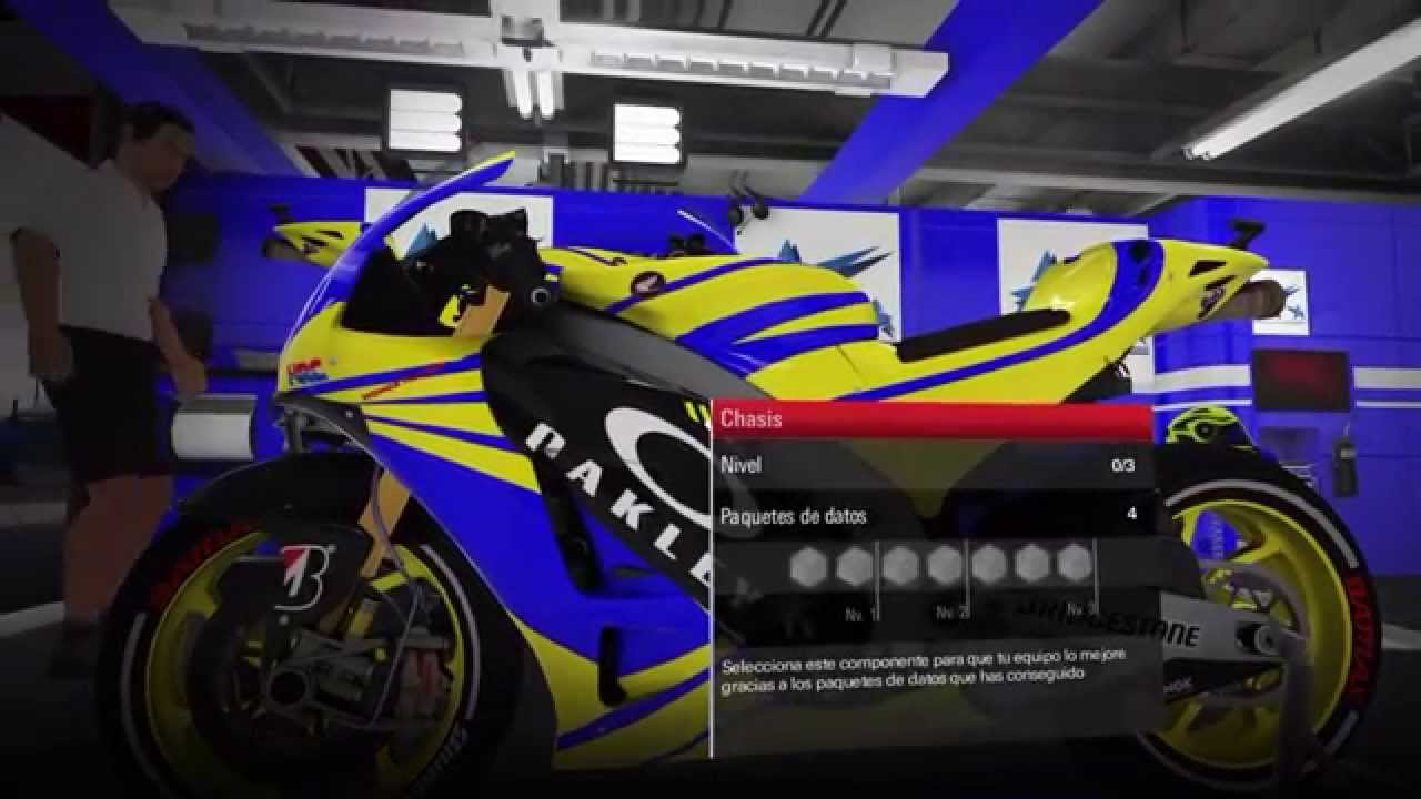 MotoGP 15 Modo Carrera #7 Surfeando en lluvia - YouTube