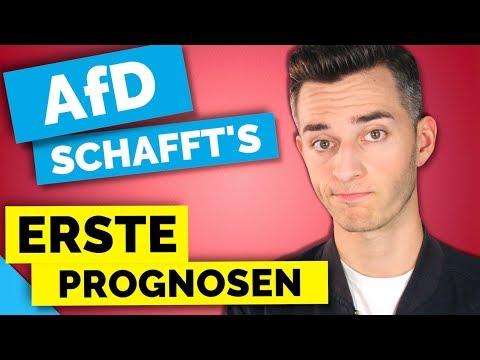 AfD MIT 13% IM BUNDESTAG!  | #btw17 [PROGNOSEN]
