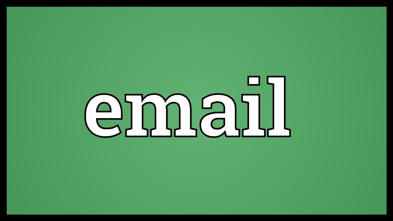 Email Meaning