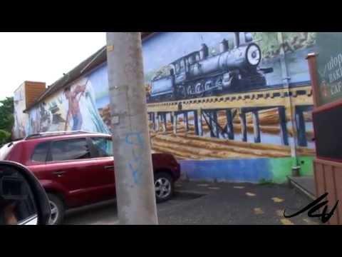 Chemainus Vancouver Island - Back Road Travel  - YouTube