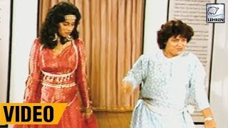 Madhuri Dixit's Dance Rehearsal With Saroj Khan From Movie Sahibaan