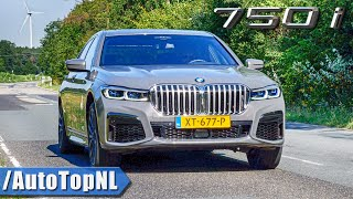 2020 BMW 7 Series 750i 530HP 4.4 V8 M SPORT Exhaust SOUND Revs & ONBOARD by AutoTopNL