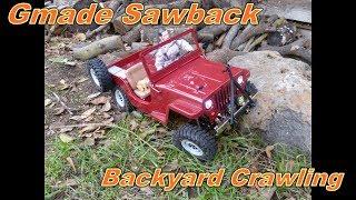 Gmade Sawback Backyard Crawling