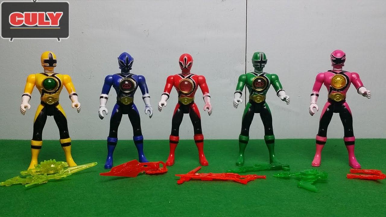5 Anh Em Siêu Nhân Thần Kiếm - Samurai Sentai Shinkenger power rangers toy  for kid - đồ chơi trẻ em
