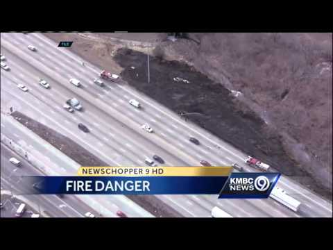 Warm, dry weather sparks fire danger worries