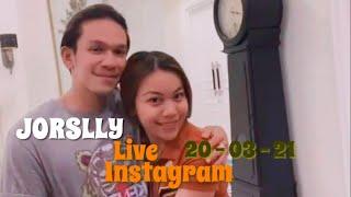 Jorslly Live Instragram - 20032021