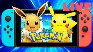 LIVE Pokémon GO Let's Go! Episode #1