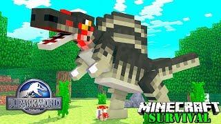 KITA BERHASIL MENGHIDUPKAN KEMBALI DINOSAURUS TERHEBAT DI BUMI ! Minecraft Survival #75