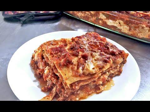 Super Duper Easy Lasagna Recipe (no Boil Noodles) #geekchef