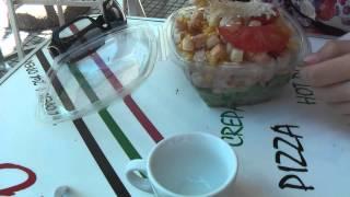 ГРЕЦИЯ: Салат Цезарь за 4.5 евро в Салониках... THESSALONIKI GREECE(Смотрите всё путешествие на моем блоге http://anzor.tv/ Мои видео путешествия по миру http://anzortv.com/ Форум Свободных..., 2012-05-14T15:45:52.000Z)