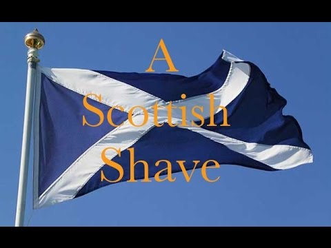 A Scottish Shave / 600 Subscribers / One Year Of Youtube Vid
