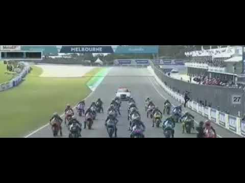 Highlight Full GP Australia 2017. Marquez Vs Rossi Vs Vinalles & Zarco