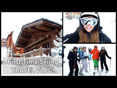 My First Time Skiing!!! | xameliax with Mark Warner Holidays