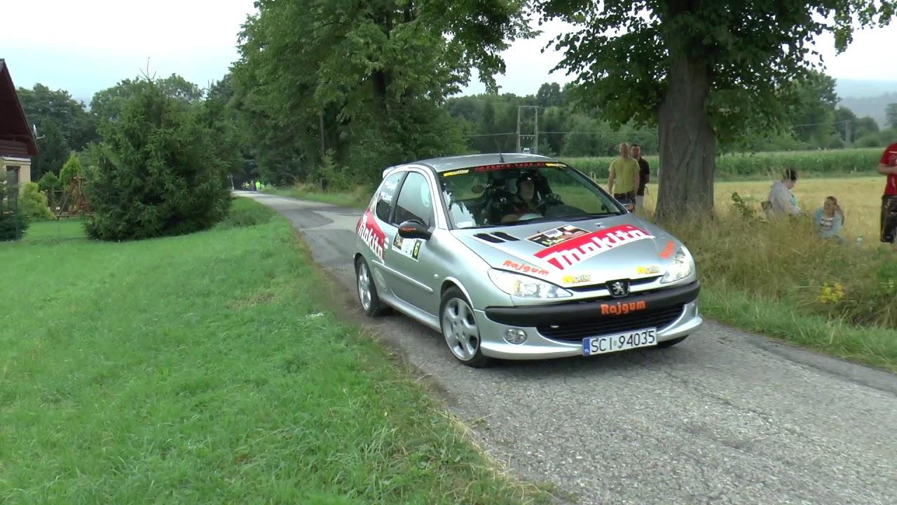 Super Sprint Lipowiec 2017 – Adam Bujok / Krzysztof Szturc – Peugeot 206