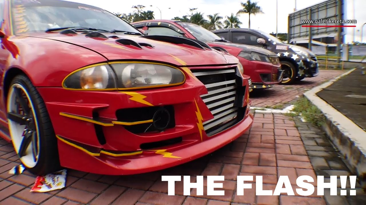 Proton Wira The Flash Car Auto Show Zero Carbon 2016 Econsave