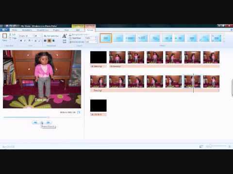 How To Make A Stop Motion In Windows Live Movie Maker