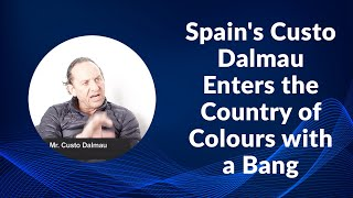 Spain Custo Dalmau Enters the Country of