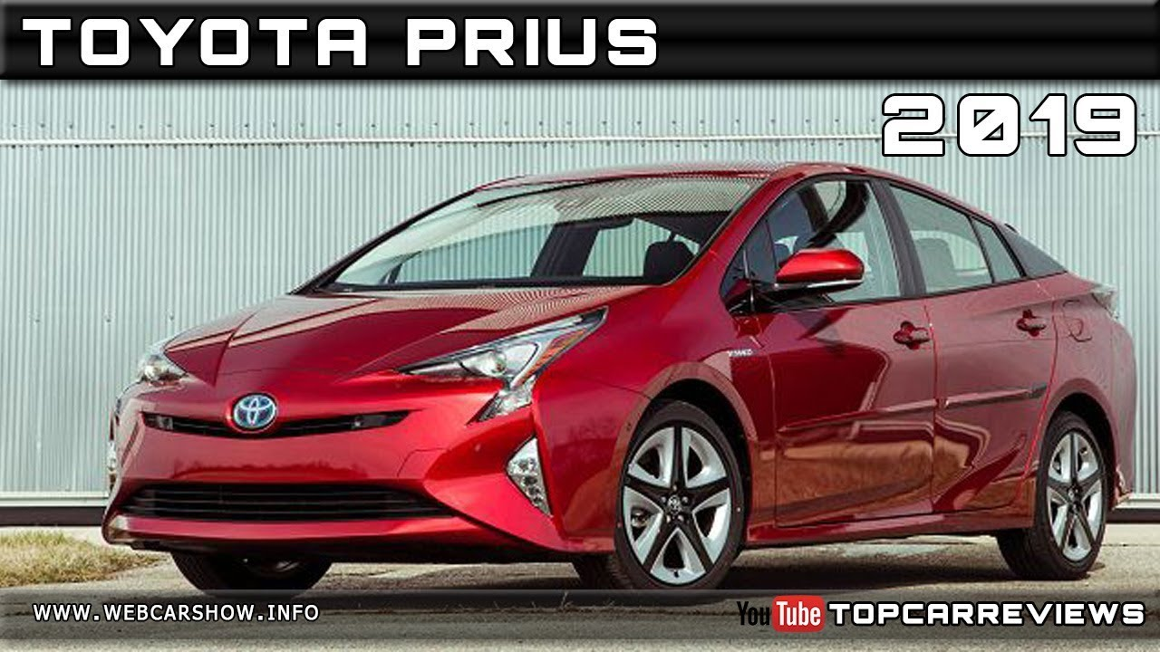 2019 Toyota Prius Review Rendered Price Specs Release Date Youtube
