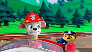 ЩЕНЯЧИЙ ПАТРУЛЬ на русском в HD щенки спасают поезд  PAW патруль