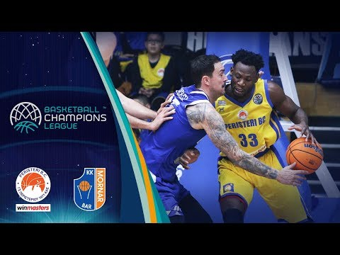 Peristeri winmasters v Mornar Bar - Highlights - Basketball Champions League 2019-20