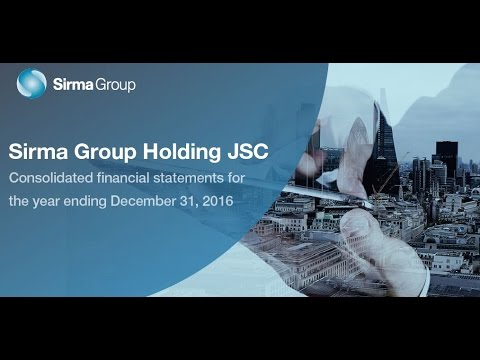 Sirma Group webinar - consolidated financials Q4 2016 - EN