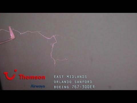 Thomson Airways TOM374 Full Flight - East Midlands to Orlando Sanford (Boeing 767-300ER) with ATC