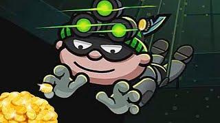 ВОРИШКА БОБ 3 МАЛЕНЬКИЙ ГРАБИТЕЛЬ БОБ #10 мультик игра видео для детей и малышей
