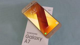 فتح صندوق ومراجعة Samsung Galaxy A7 | عمر السعدي