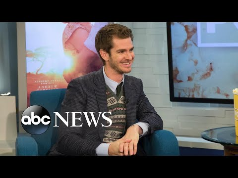 Andrew Garfield sings John Lennon's 'Happy Christmas' and Cliff Richard's 'Mistletoe and Wine'