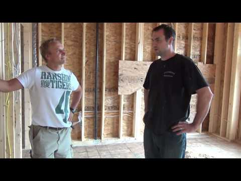 How To Build A House: Roughins: Heating, Plumbing and Electrical Ep 44