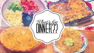 WHAT'S FOR DINNER | QUICK AND EASY WEEKNIGHT MEALS | PIONEER WOMAN COLLAB