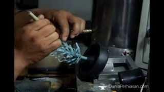 [Dunia Perhiasan] Membuat Cetakan Lilin dan Sprue Tree