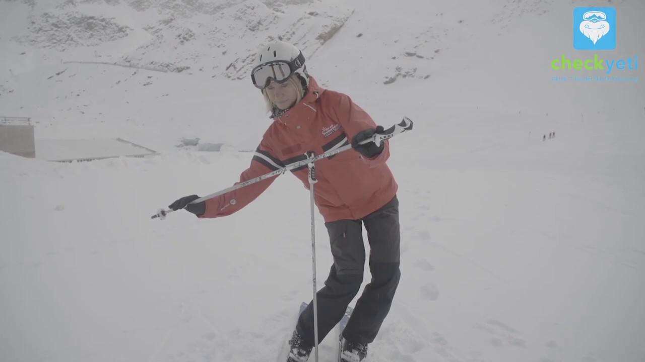 Skifahren lernen die richtige haltung tipps für anfänger youtube