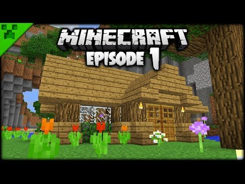 The Minecraft Journey Begins! | Python's World (Minecraft Survival Let's Play) | Episode 1