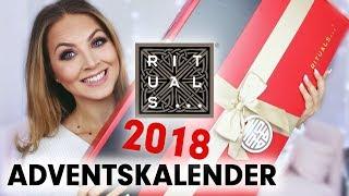 RITUALS ADVENTSKALENDER 2018  - AUSPACKEN + TESTEN! deutsch