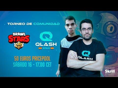 (SORTEO GENE) Brawl Stars: SEMIFINALES Y FINAL Torneo Comunidad *QLASH SPAIN* ¡¡PREMIO DE 50€!!