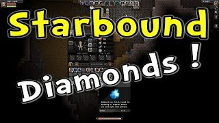 """Let's Play Starbound [Ep 7] """"Clyde's First Diamonds!"""" (Gameplay / Playthrough)"""
