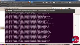 PROGRAMMER EN RUBY - 2 -  Installation sous Linux
