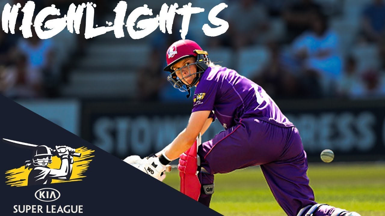 Jones's 74 Not Out Leads Lightning to Glory | Vipers v Lightning | Kia Super League 2019 Highli