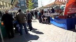 Farmers Market in Glasgow, Scotland