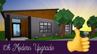 "Roblox Bloxburg | ""Happy Home"" 10k Modern Upgrade [Speed Build]"
