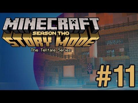 Minecraft Story Mode S2 (E3) #11 - Mush Room