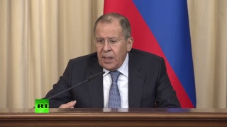 Пресс-конференция Лаврова и министра иностранных дел Таджикистана по итогам встречи