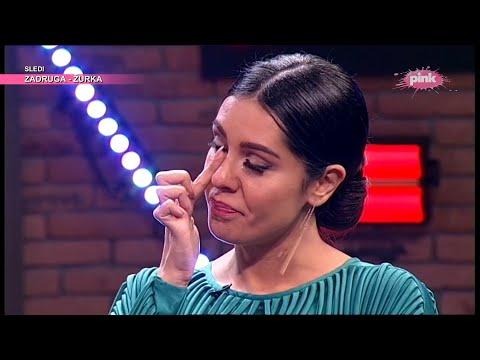 Tanja Savić zaplakala dok je pričala o svojoj deci koje nije videla godinu dana! (Ami G Show S13) - AmiG Show